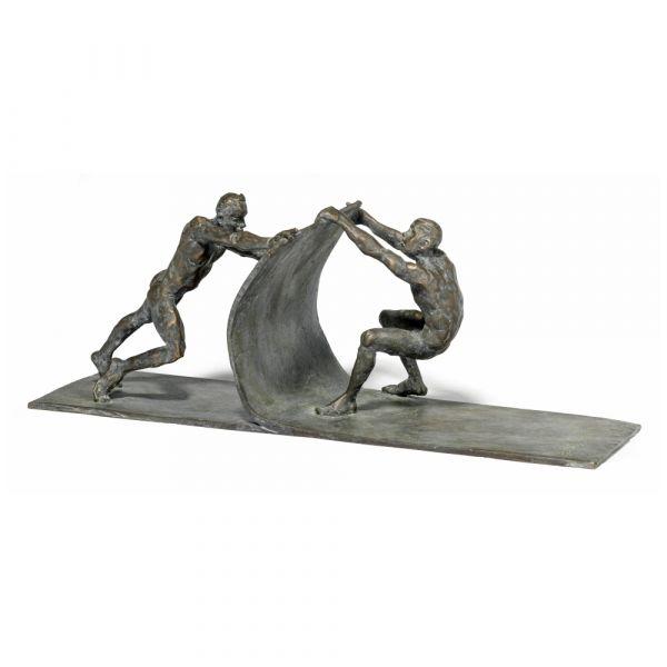 Wirth, Leo: Skulptur »Gemeinsam bewegen«, 2019