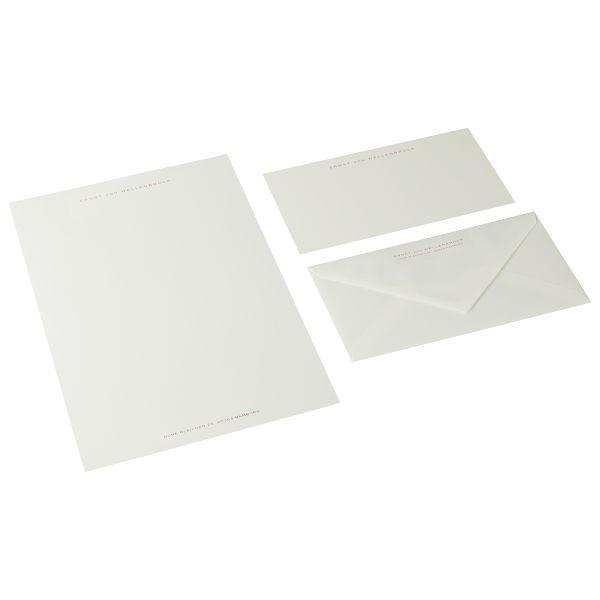 A4-Briefpapier, Kirschrot