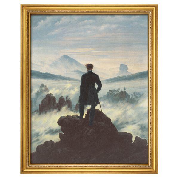 Friedrich, Caspar David: »Der Wanderer über dem Nebelmeer«, 1818