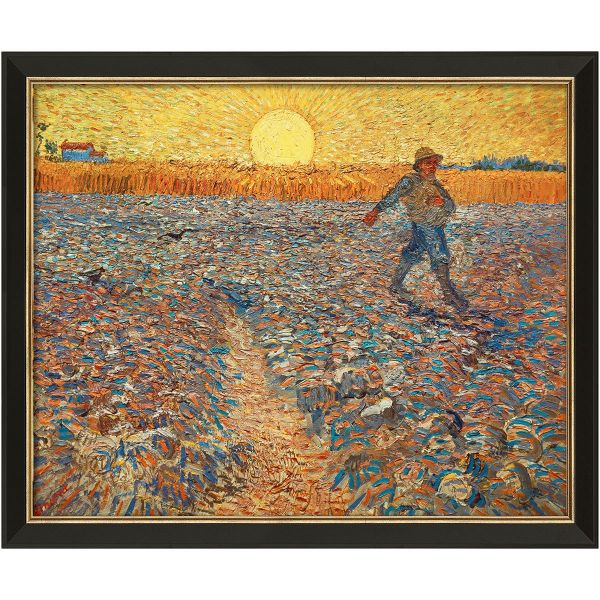 van Gogh, Vincent »Sämann bei untergehender Sonne«, 1888