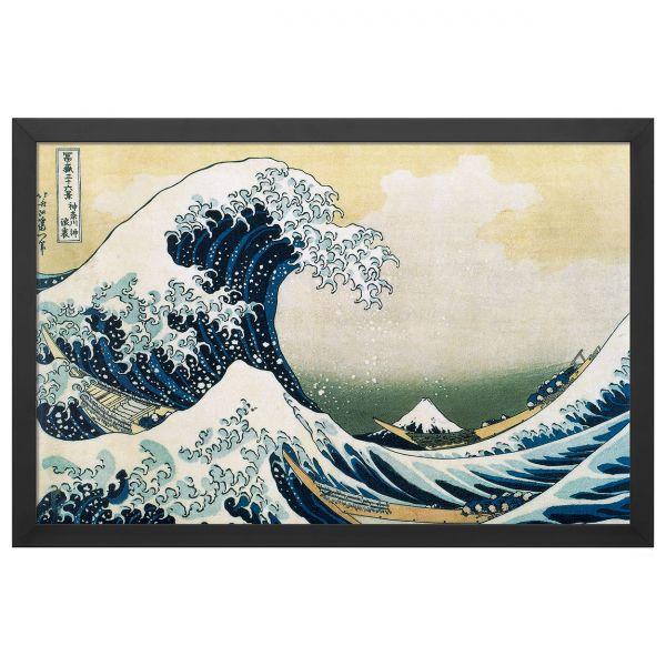 Hokusai, Katsushika : »Die große Welle vor Kanagawa«, 1830