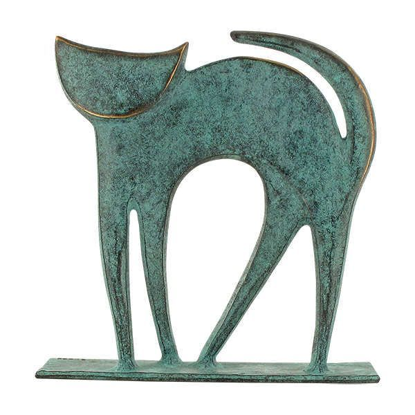 Schmelter, Raimund: Tierplastik »Katze«
