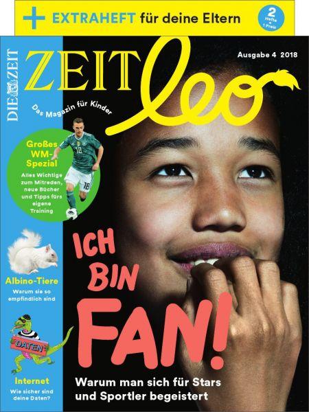 ZEIT LEO 4/18 Ich bin Fan!
