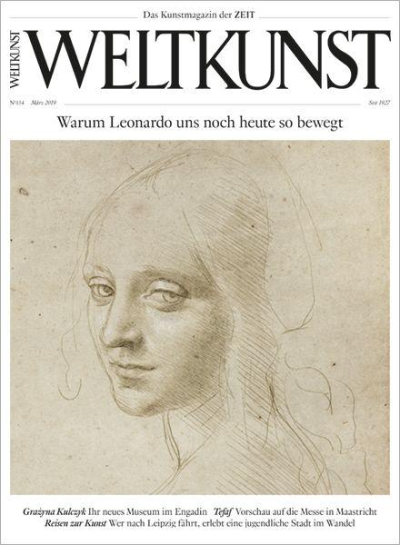 WELTKUNST 154/19 Warum Leonardo uns noch heute so bewegt
