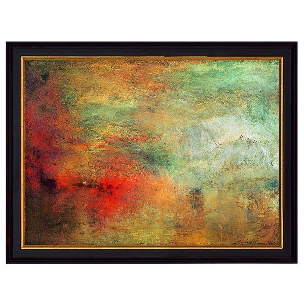 Turner, William: »Sonnenuntergang über einem See«