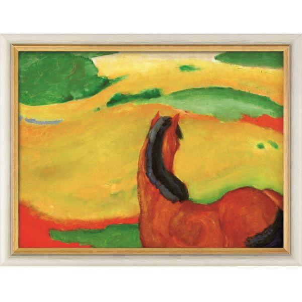 Marc, Franz: »Pferd in der Landschaft«, 1910