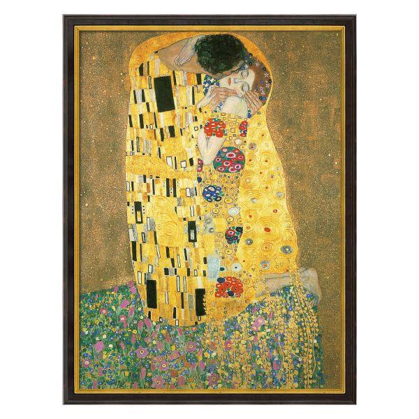 Klimt, Gustav: »Der Kuss«, 1907/08