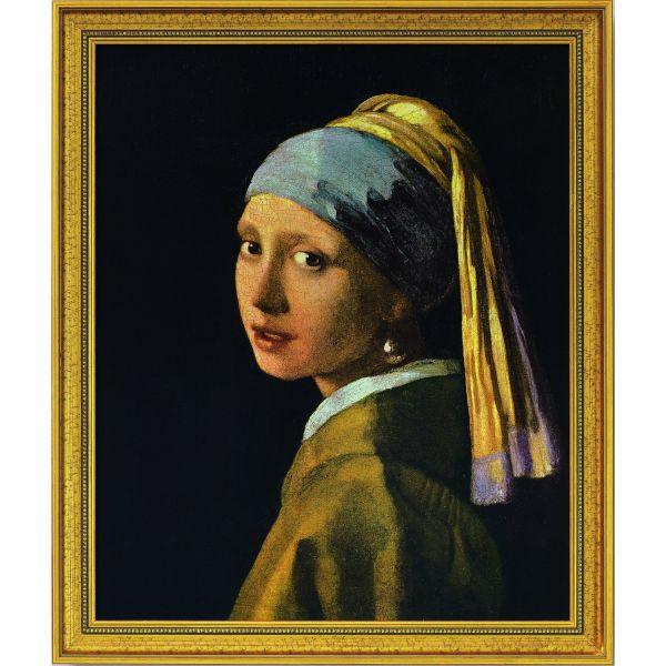 Vermeer van Delft, Jan: »Das Mädchen mit dem Perlenohrring«, 1665