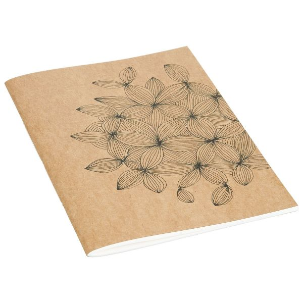 2er-Set Notizbücher mit floralem Muster