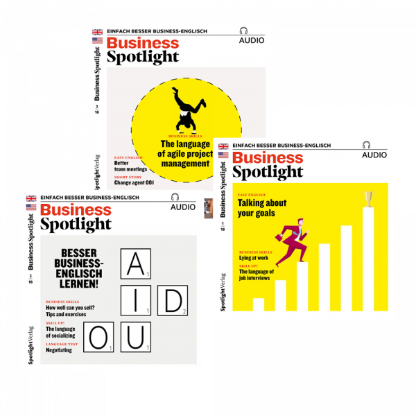 »Business-Spotlight« Audio-Trainer