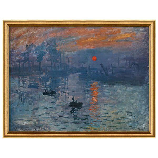Monet, Claude: »Impression, Sonnenaufgang«, 1873