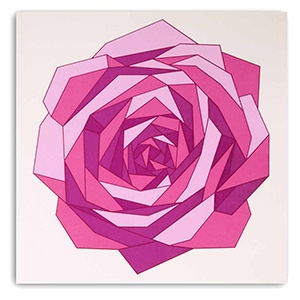 Rose polygon