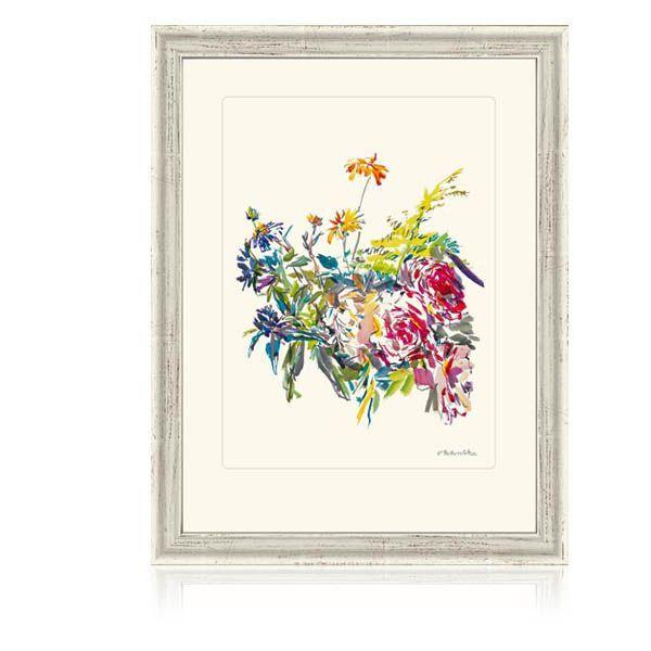 Kokoschka, Oskar: »Sommerblumen mit Rosen«
