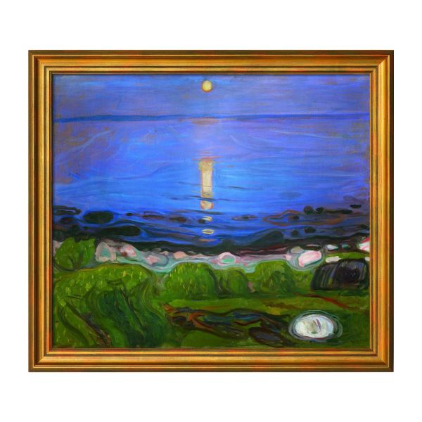 Munch, Edvard: »Eine Sommernacht am Strand«, 1902