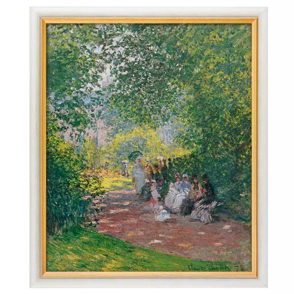 Monet, Claude: »Im Park Monceau«, 1878