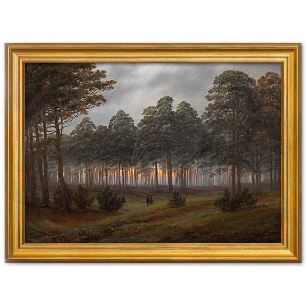 Friedrich, Caspar David: 4-teiliges Bilderset »Tageszeitenzyklus«