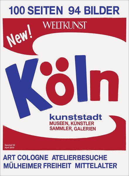 WELTKUNST 155/19 KÖLN-SPEZIAL - Der neue Kunstführer