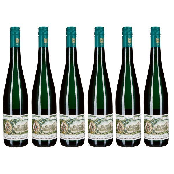 Maximin Grünhäuser Riesling Monopol, VDP Gutswein, 2016 (6 Flaschen)