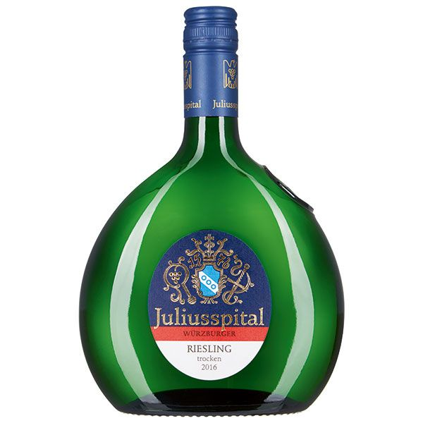 Würzburger Riesling, 2016 (6 Flaschen)