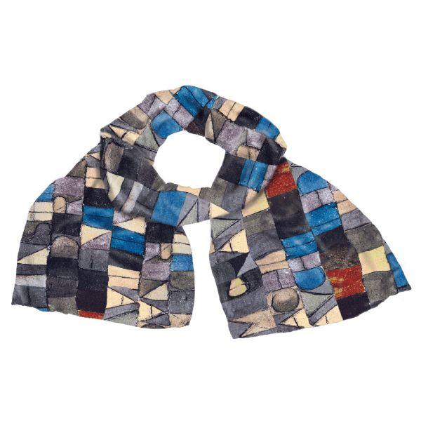 Schal »Einst dem Grau der Nacht enttaucht«, 1918 nach Paul Klee
