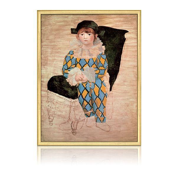 Picasso, Pablo: »Paul als Harlekin«