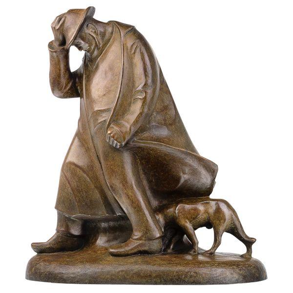 Barlach, Ernst: »Der Schäfer im Sturm«, 1908