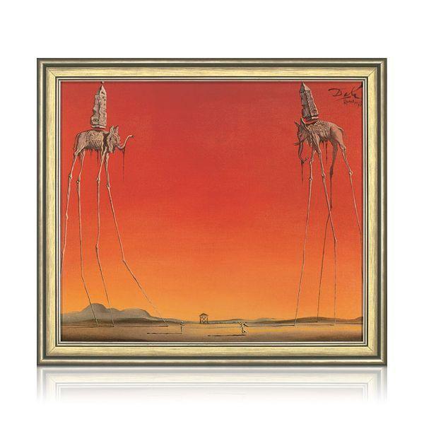 Dalí, Salvador: »Les Eléphants«