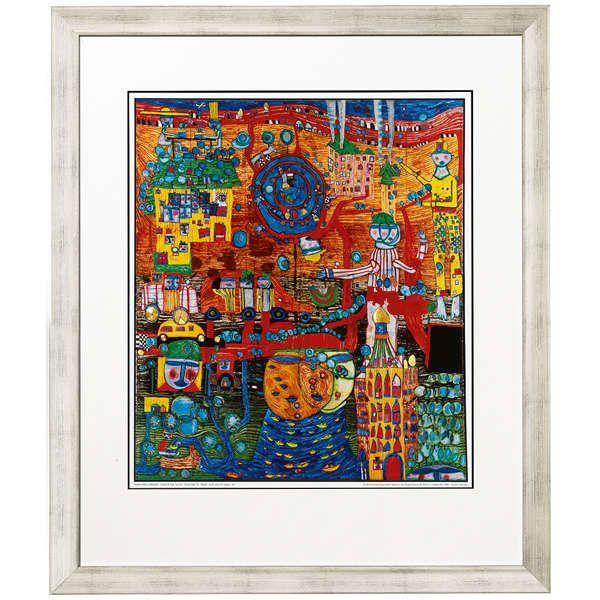 Hundertwasser, Friedensreich: »(936) Das 30 Tage Fax«