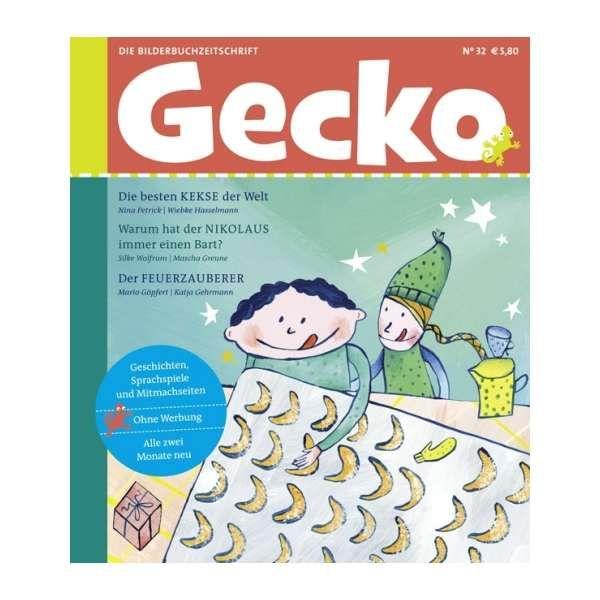 Gecko Kinderzeitschrift Band 32