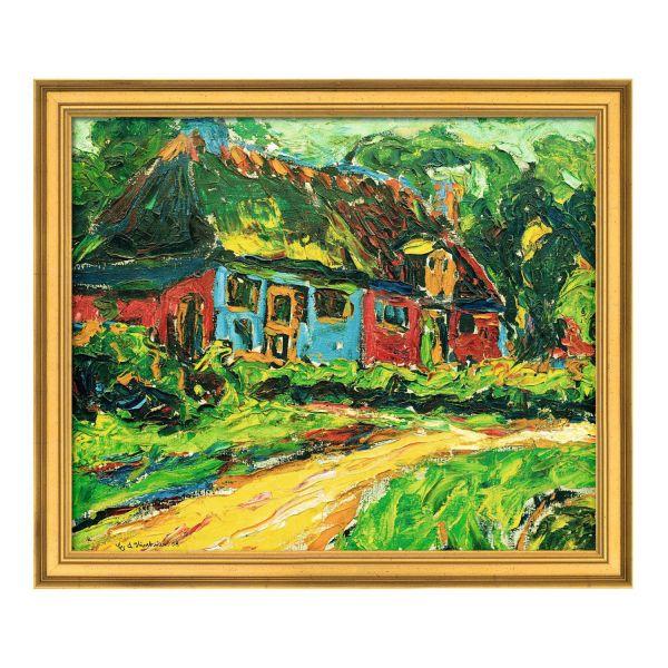 Kirchner, Ernst Ludwig: »Altes Haus auf Fehmarn«, 1908
