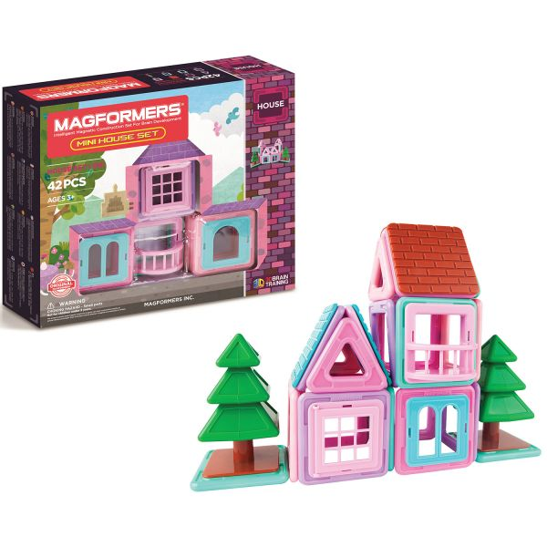 Magformers Mini-House Set + Figur