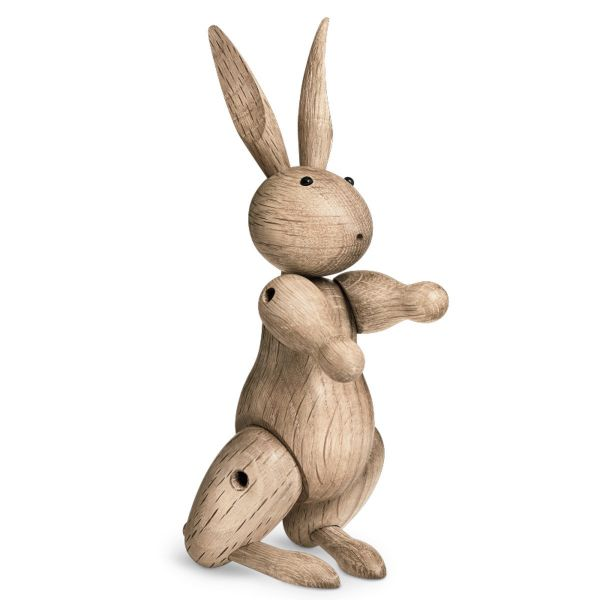Holzfigur »Kaninchen« von Kay Bojesen