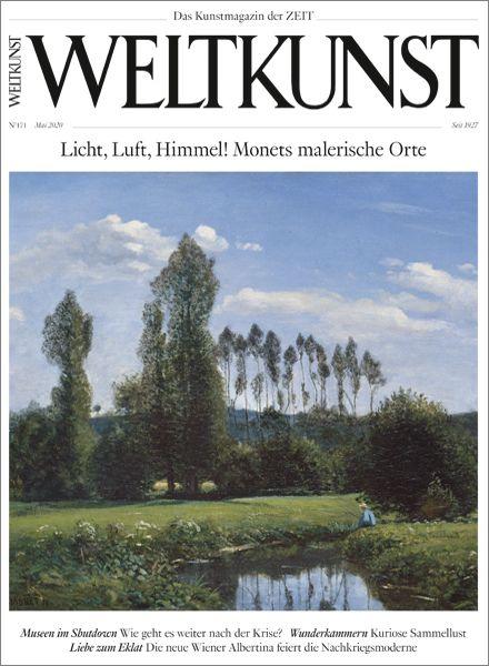 WELTKUNST 171/20 Licht, Luft, Himmel! Monets malerische Orte