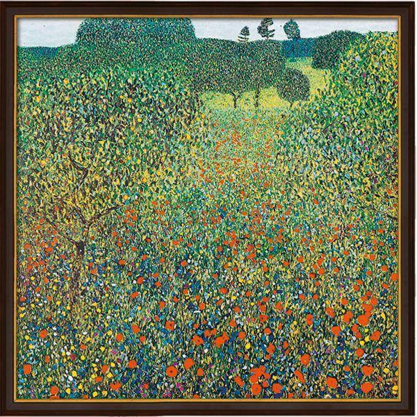 Klimt, Gustav: »Feld mit Mohn«, 1905