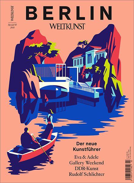 WELTKUNST 142/18 BERLIN-SPEZIAL – Der neue Kunstführer