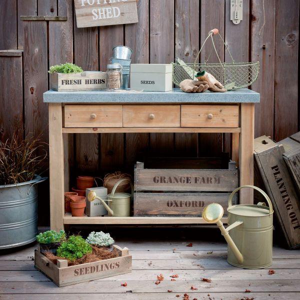Garten-Arbeitstisch