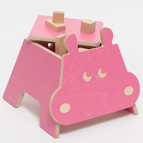Kinderhocker »Hippo«