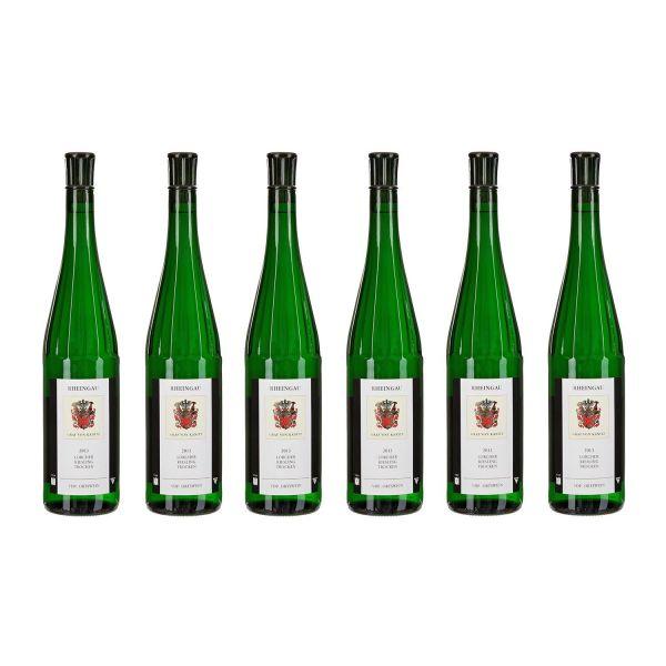 Lorcher Riesling trocken 2013 (6 Flaschen)