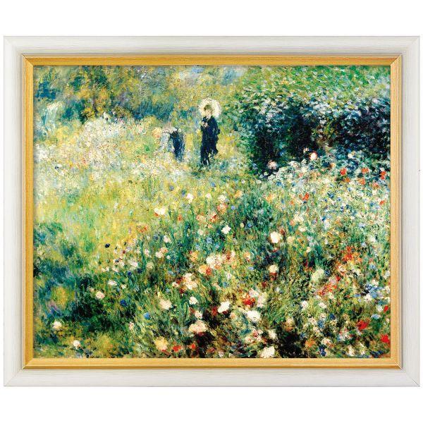 Renoir, Auguste: »Frau mit Sonnenschirm in einem Garten«, 1875/1876
