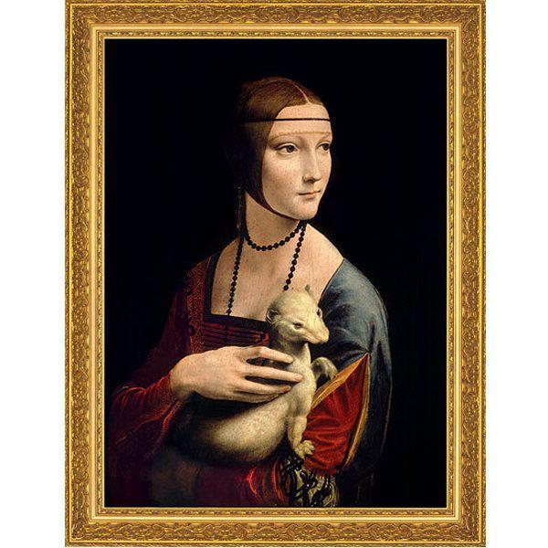 da Vinci, Leonardo: »Die Dame mit dem Hermelin«