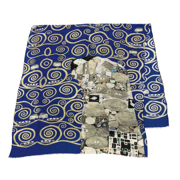 Schal »Die Erfüllung« nach Gustav Klimt
