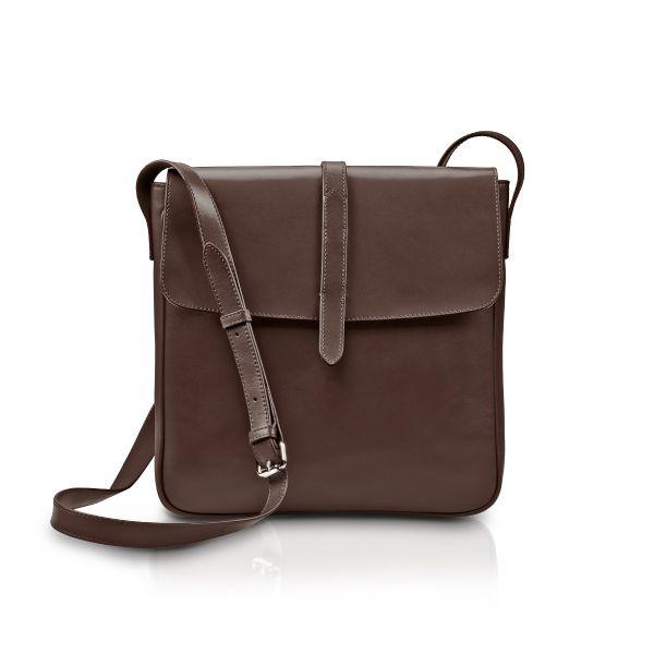 »Saddle Bag« Umhängetasche Schokobraun