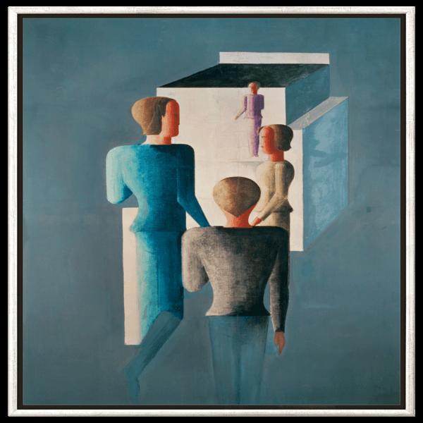 Schlemmer, Oskar: »Vier Figuren und Kubus«, 1928