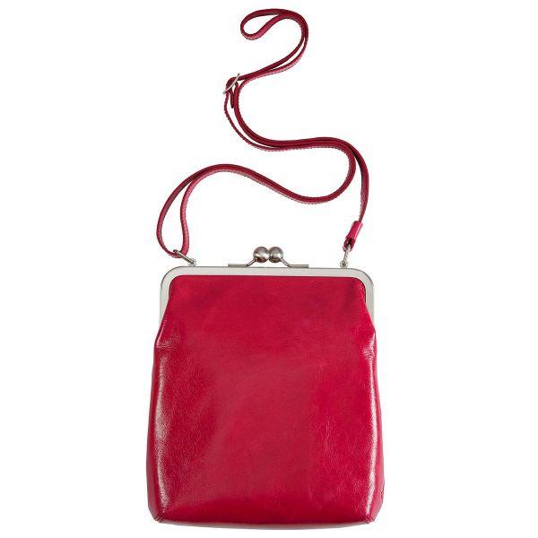 Bügeltasche »Lola« von Volker Lang Vintage rot / hellgrün