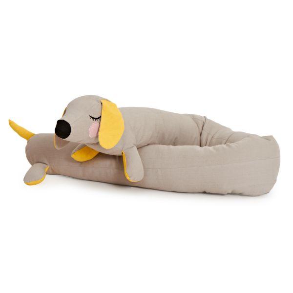Stofftierkissen »Hund«