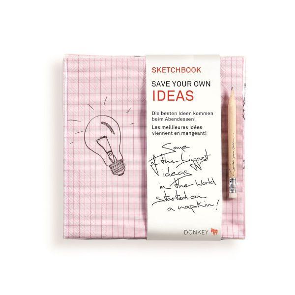 Servietten-Set »Skretchbook Story & Idea«