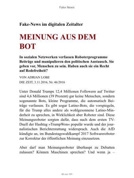 »Fake-News«