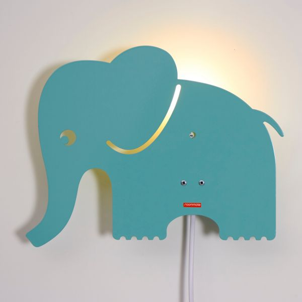 kinder wandlampe elefant spielzeug accessoires kinderwelt sortiment die zeit shop. Black Bedroom Furniture Sets. Home Design Ideas