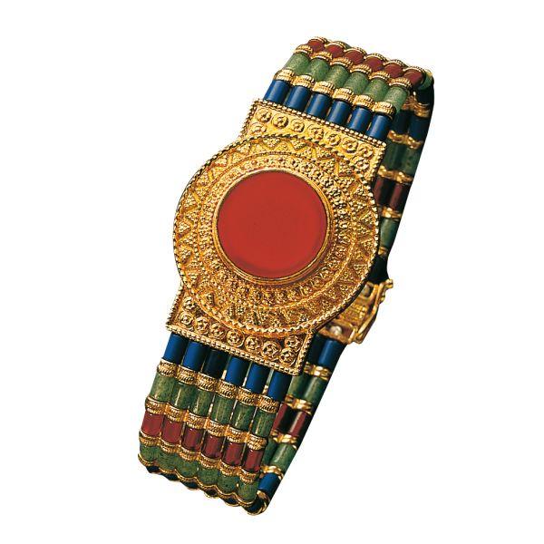 Königsarmband, 925er-Sterlingsilber vergoldet
