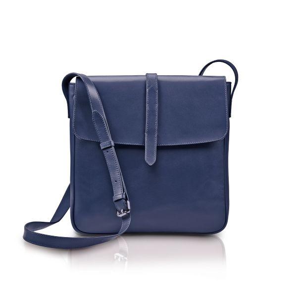 »Saddle Bag« Umhängetasche Nachtblau